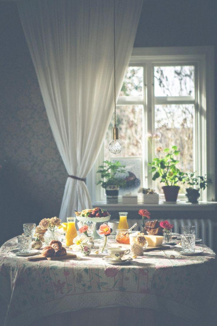 Ljuset, blommorna och allt <3