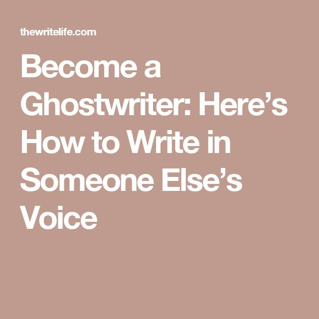 Where To Find Ghost Writers Online reyvideo tk