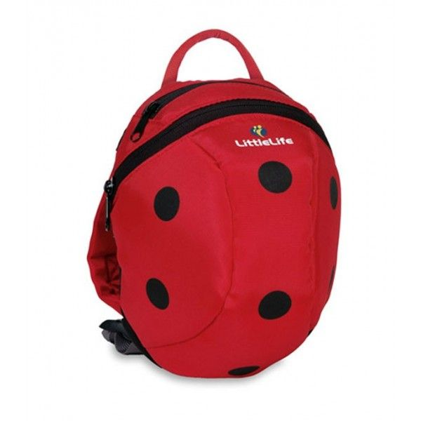Mochila Animalitos Little Life mariquita