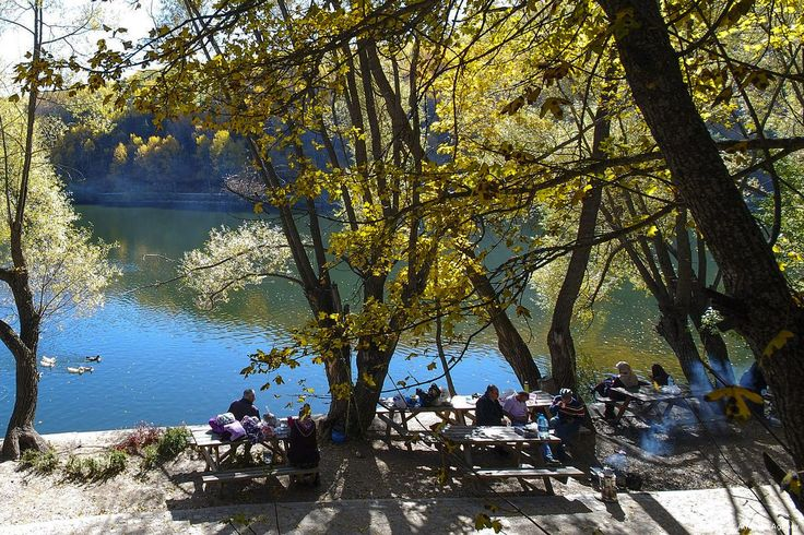 Autumn season in Karagol Natural Park in Ankara