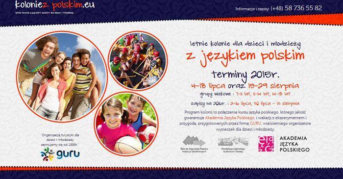Akademia Języka Polskiego (Academy of Polish Language) – the oldest Polish language school in Gdańsk, invite all children and teenagers (7-18  y.o.) to the Summer camp with Polish language course. The summer camp is organized in two locations #Chmielno and #Łapino near #Gdańsk.
