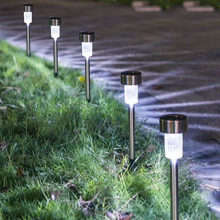 Residential Landscape Outdoor Lighting Kit Floodlight 10 Solar Lights Garden Best Solar Garden Lights Solar Pathway Lights