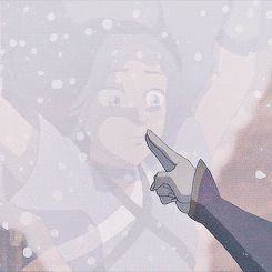 Katara is awesome! it was a huge risk to do that but it worked and its an awesome move! Avatar