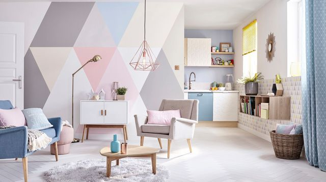 206 best idee per il salone images on pinterest salons - Dipingere le pareti di casa ...