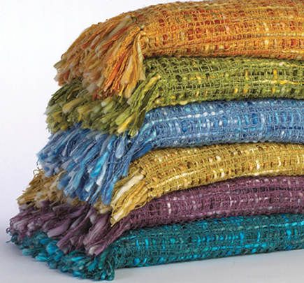 the colors, the textures, my infinite love of blankets and throws. i want one in each color, please.