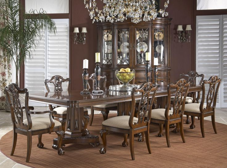 Antebellum Formal Dining Room Group By Fine Furniture