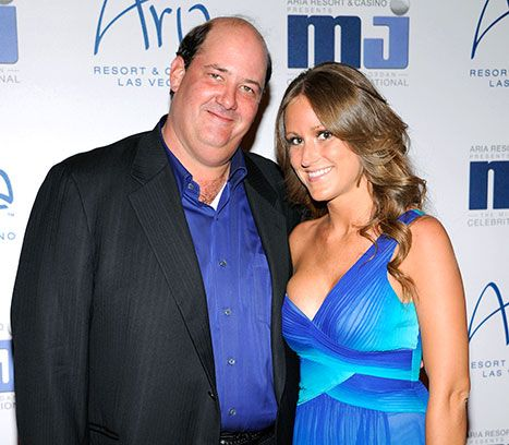 The Office alum, Brian Baumgartner, married his girlfriend,Celeste Ackelson, on April 26th