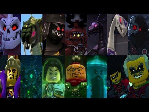Defeats of all the Lego Ninjago Villains  Lego Ninjago Masters of Spinjitzu  Lego ninjago