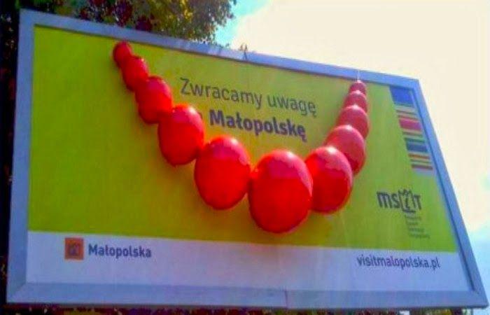 Wiekie korale jako reklama Małopolski
