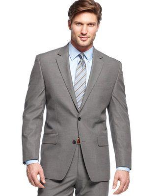 MICHAEL Michael Kors Grey Mini-Stripe Jacket
