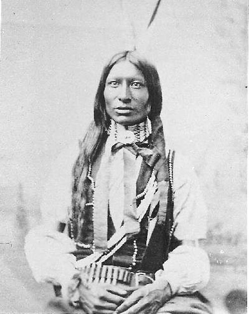 Stands First - Oglala / Sioux (Lakota). (obsessed with native American history)