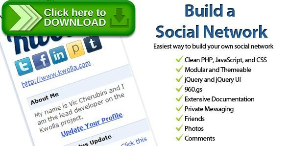 [ThemeForest]Free nulled download Kwolla Lite Social Network from http://zippyfile.download/f.php?id=47553 Tags: ecommerce, facebook clone, php social network, social bookmark, social media, social media icons, social network, social networks, twitter clone