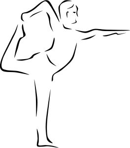 Yoga Poses (stylized) by @Gerald_G, For a request.