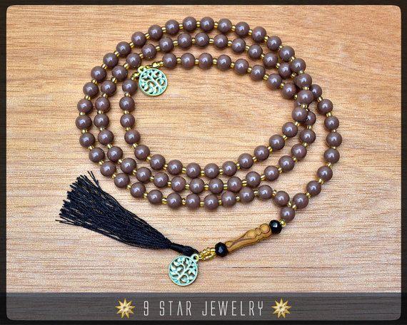 Baha'i Prayer Beads  Full 95 Alláh-u-Abhá w/ Tree of Life by 9StarJewelry