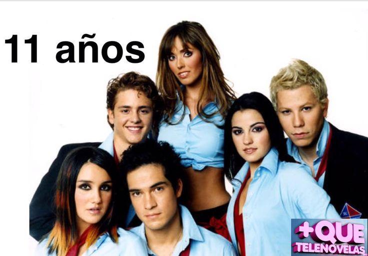 11 años del estreno de una telenovela que marcó a toda una generación #Rebelde #porsiemprerebelde