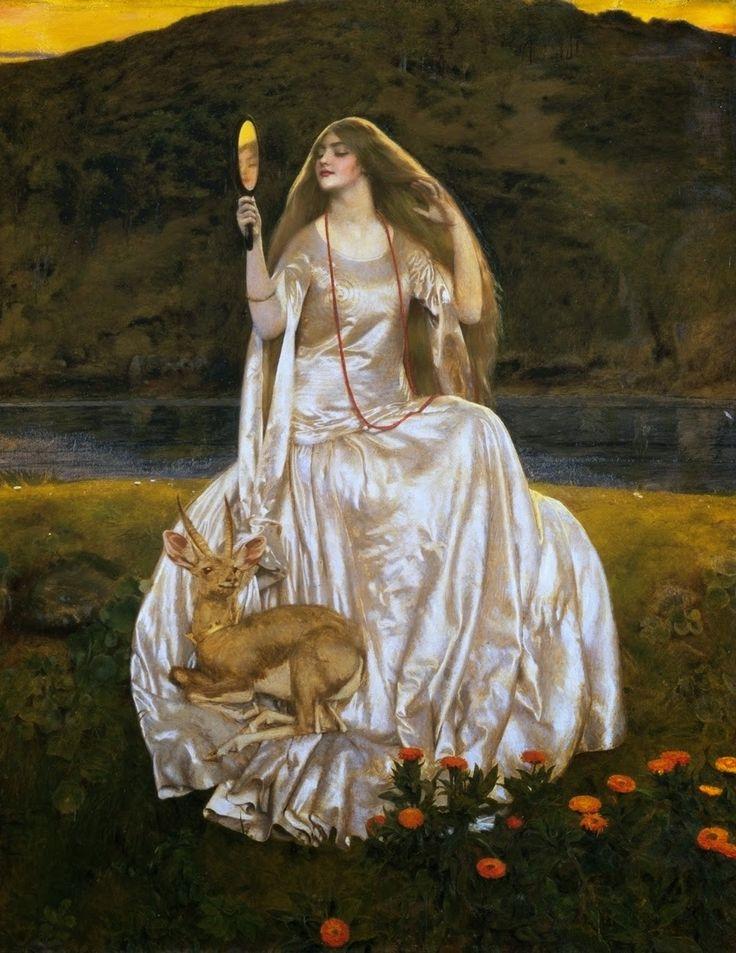 The Enchantress by Frank Cadogan Cowper, 1924