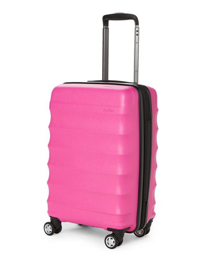 "Antler 20"" Pink Juno DLX Classic Carry-On Spinner 