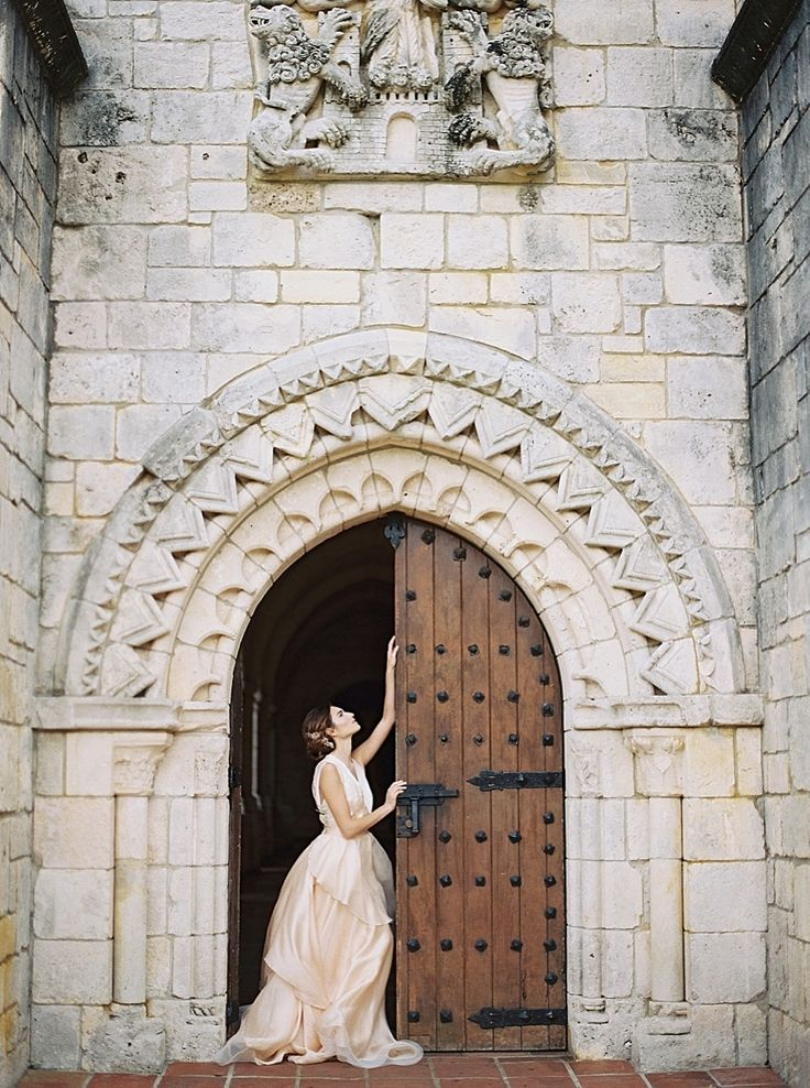 Photography : Simply Sarah Photography Read More on SMP: http://www.stylemepretty.com/little-black-book-blog/2016/03/04/old-world-wedding-inspiration-at-miamis-ancient-spanish-monastery/