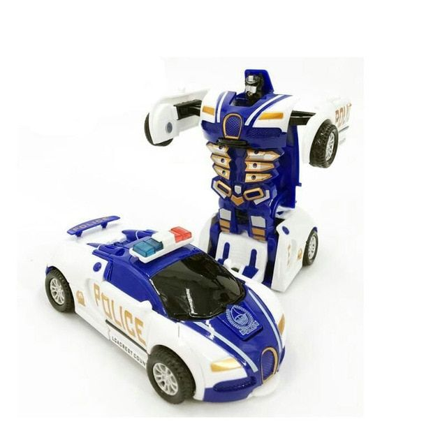 Children Toy Model Car Police Car Pull Back Vehicles Toys Car