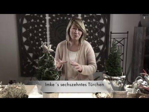 Dekotipps Weihnachten 2015 von Imke Riedebusch. Mein sechszehntes Türchen. - YouTube