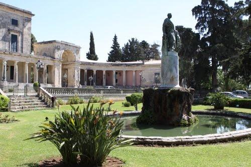 The Old Palace in Kerkira (Corfu)
