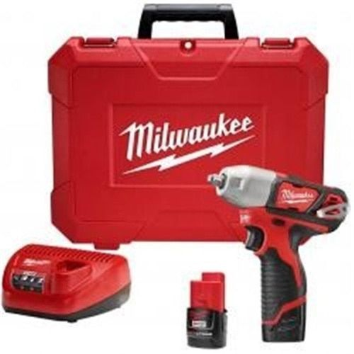 Milwaukee Electric Tool ML2463-22 0.37 in. Impact Wrench Kit