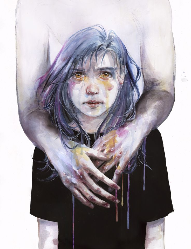 New Watercolors by Agnes Cecile: 814145e66a9faaceba968f0f2cffc89c.jpg