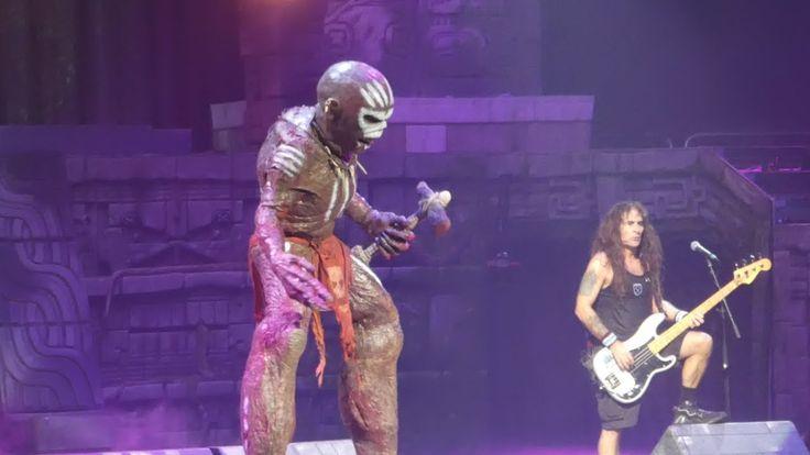 """The Book of Souls (Eddie Attacks)"" Iron Maiden@Wells Fargo Center Phila..."