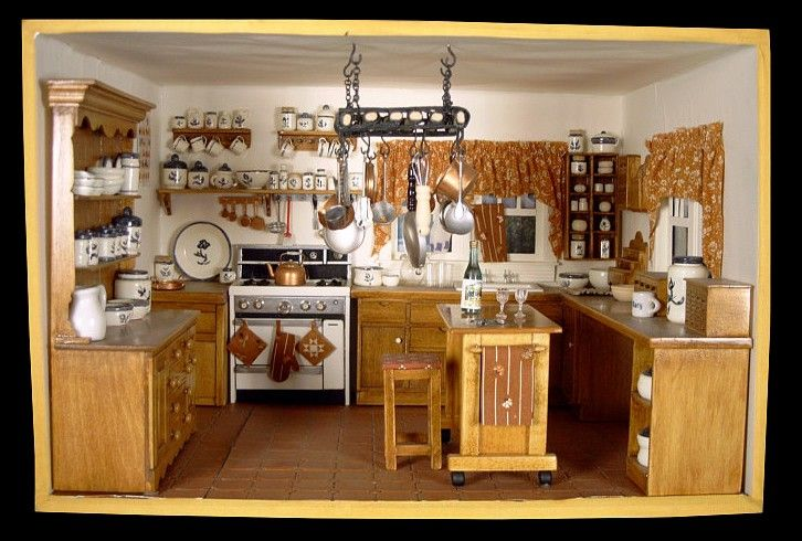 80 Best Images About Room In A Box On Pinterest: 17 Best Images About DIY Dollhouse Kitchens On Pinterest