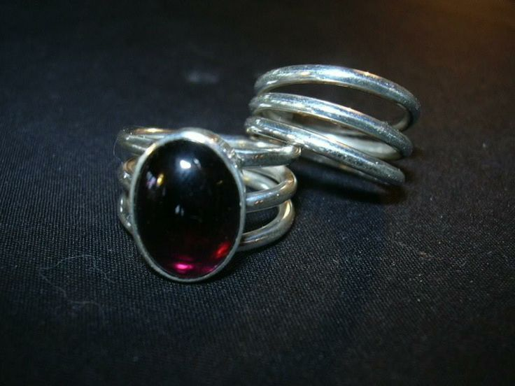 Handcrafted rings by Chasing Destiny Silver