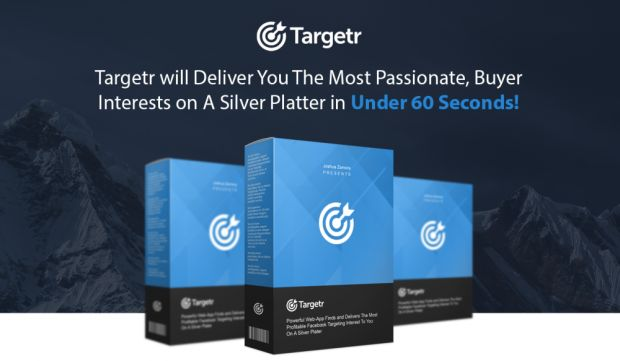Targetr Agency-$10,230 in Under 14 Days by Joshua Zamora Review-New, 3-Step Web-App Generates $10,230 in just 14 days By Uncovering the Most Passionate, Buyer Interests On FaceBook.