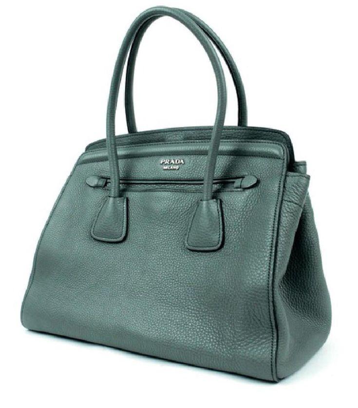Prada Handbag Forest Vitello