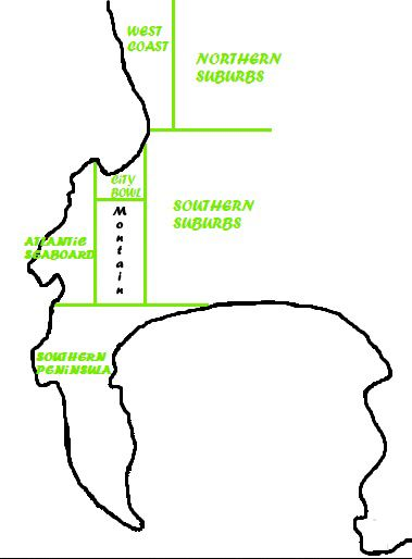 Districts of Cape Town