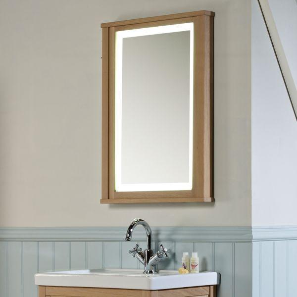 Marlborough/Artisan Illuminated Mirror - Laura Ashley Bathroom Collection