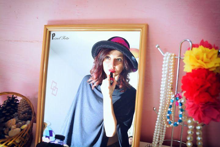 https://www.facebook.com/LoveMissHat?ref=hl #big cloche felt hat# felt hat# special design felt hat#fuschsia felt hat