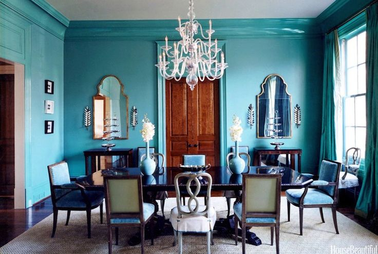 Best 25+ Turquoise Dining Room Ideas On Pinterest Beige