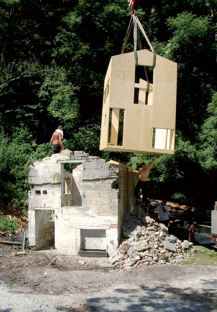 La casa nella casa - promo_legno