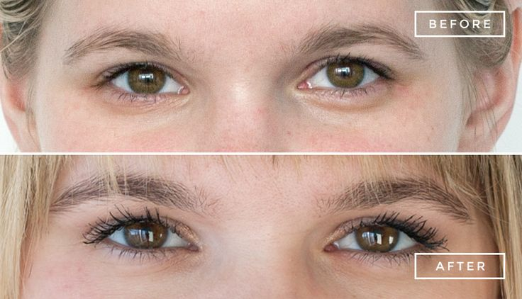 Brow and lash tinting. I tried it and the results were incredible.