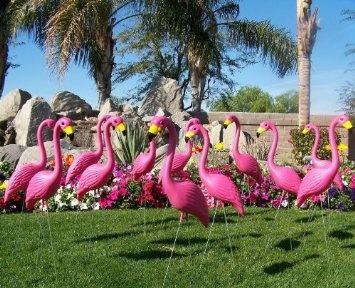 30 Large Pink Yard Flamingos Sold In Bulk for a Pink Flamingo Flocking