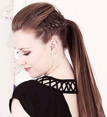 Rockový účes pre dlhé vlasy: 4 kroky ku dokonalosti