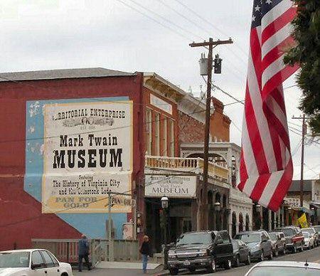 Mark Twain Museum -Virginia City Nevada