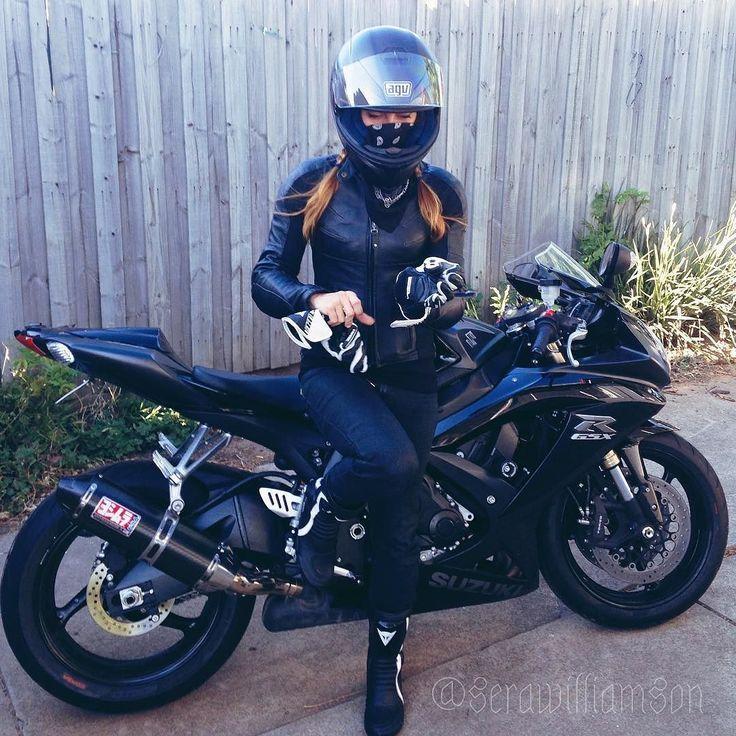 Motorcycle Women Serawilliamson Mit Bildern Motorrader