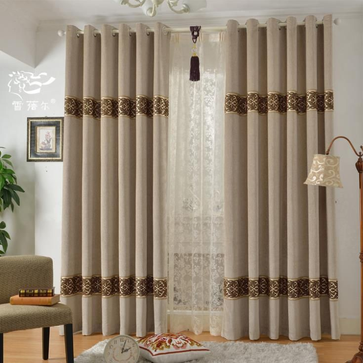 22 best embroidered curtains images on pinterest curtain - Cortinas para ventanales grandes ...