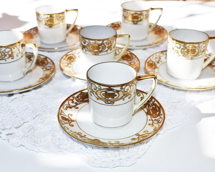 6 Vintage tea cup and saucers, tea cup and saucer vintage, Noritake, made in Japan by VintageByNora on Etsy https://www.etsy.com/listing/587784267/6-vintage-tea-cup-and-saucers-tea-cup