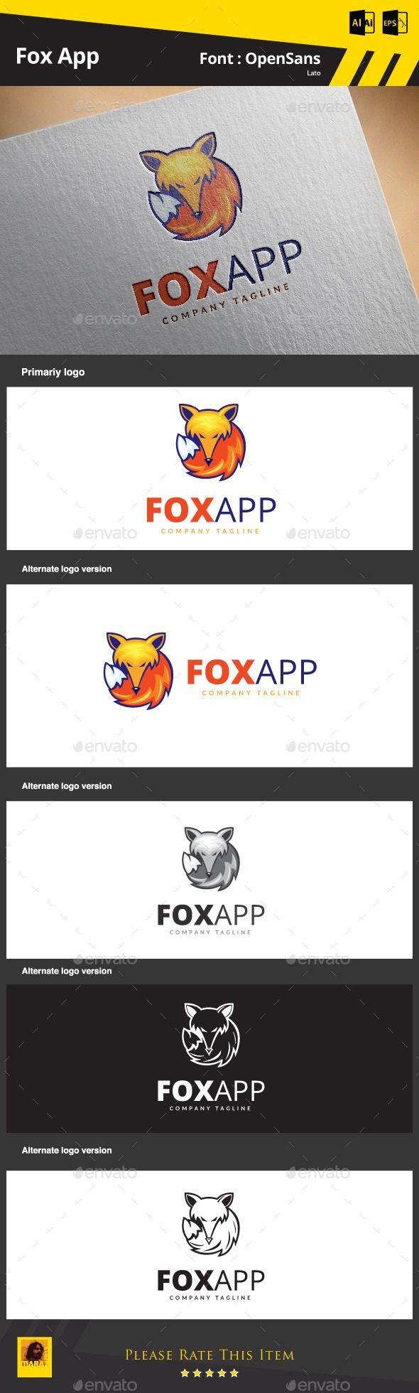 Hi Friends... My logo design... Fox App ... Pls visit and comment... it's only 29$...