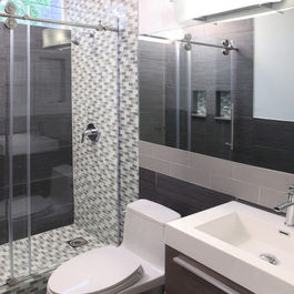 Small Master Bathroom Plans