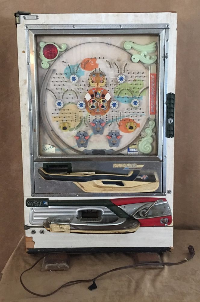 Vintage Nishijin 1960s Pachinko Machine Sophia pinball Japanese for repair parts #Nishijin