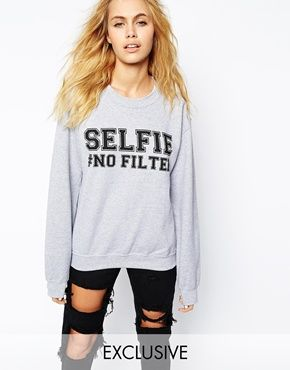 #sweat #oversize #selfie #nofilter #grey #girl #fashion by ADOLESCENT CLOTHING