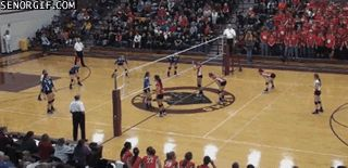 Excellent Volleyball Fail