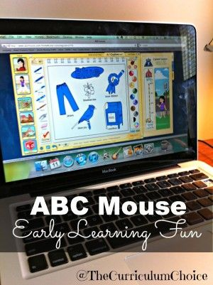 "A Review of ABC Mouse by Jen Dunlap ""a full online curriculum for preschool through kindergarten"""